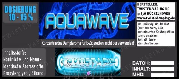 Twisted Vaping - Cryostasis Aquawave 10 ml Aroma