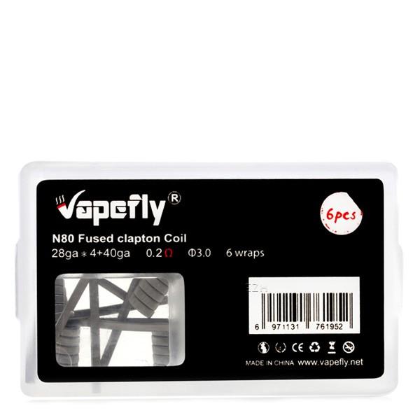 Vapefly - Prebuilt Ni80 Fused Clapton Coil 0,2 Ohm