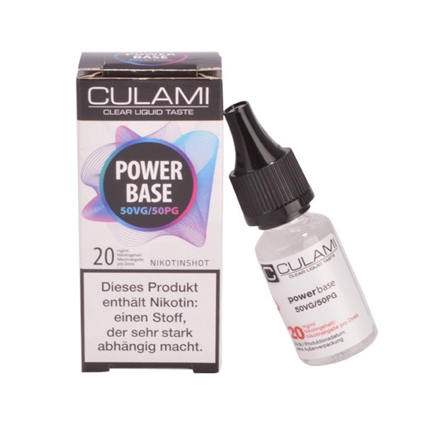 Culami Power Base - Nikotin Shot - Einzeln