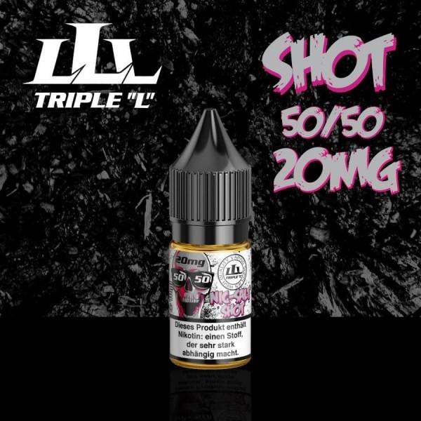 Triple L - Nic-Salt Shot 50/50 20mg