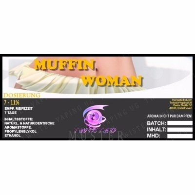 Twisted Vaping - Muffin Woman 10 ml Aroma