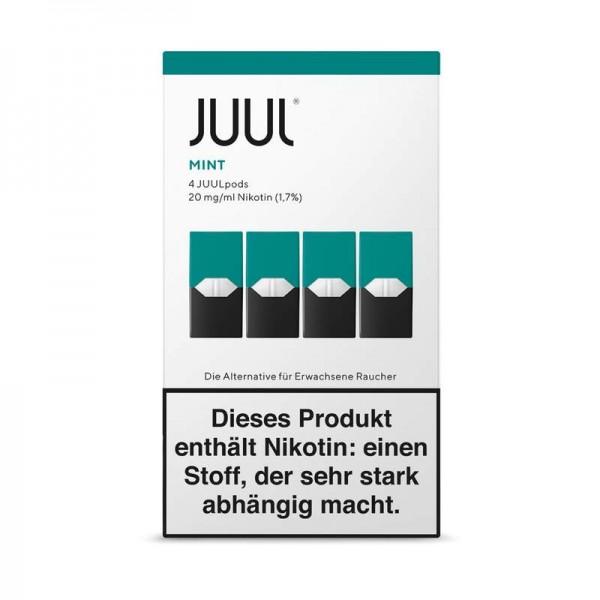 JUUL Mint Liquidpod 4er Pack Einwegkapsel
