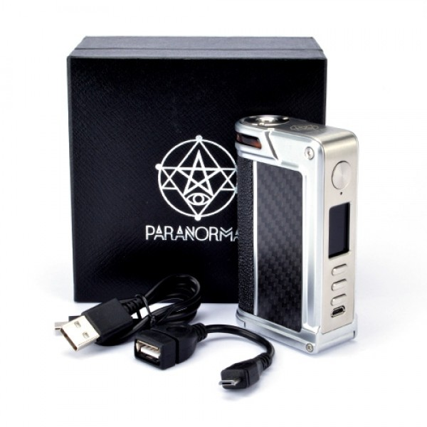 Lost Vape Paranormal DNA 250C 'S' Edelstahl/Pearl Fish