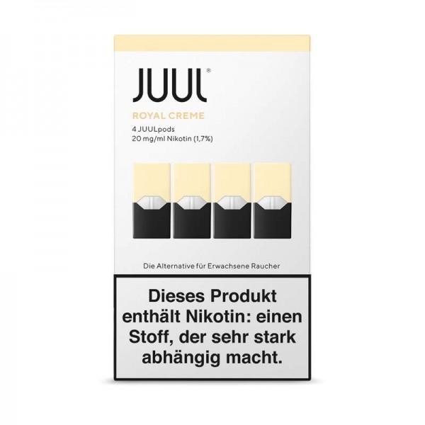 JUUL Royal Creme Liquidpod 4er Pack Einwegkapsel