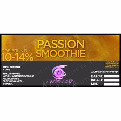 Twisted Vaping - Passion Smoothie 10 ml Aroma