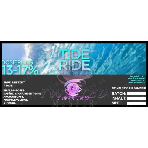 Twisted Vaping - Tide Ride 10 ml Aroma