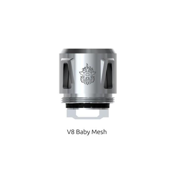 5x SMOK - TFV8 Baby Mesh 0.15 Ohm