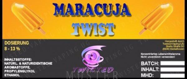 Twisted Vaping - Maracuja Twist 10 ml Aroma