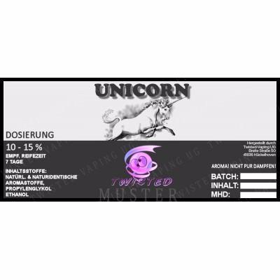 Twisted Vaping - Unicorn 10 ml Aroma