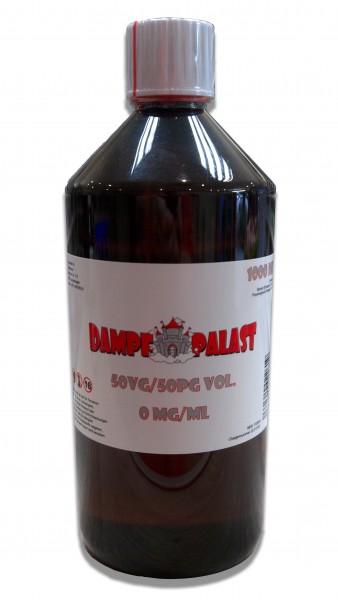 Dampf Palast Base 50/50 - 1000 ml ohne Nikotin