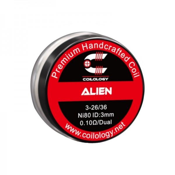 Coilology - Handmade Alien Ni80 0,10 Ohm
