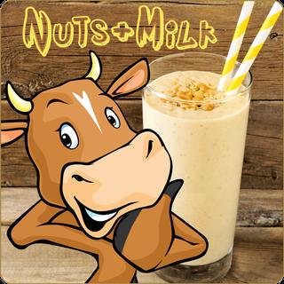 Dark Burner - Nuts + Milk 10 ml Aroma